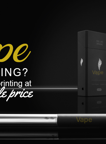 Good Quality Vape Packaging with Custom Printing at Wholesale Price